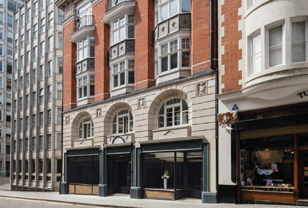 It's always great to get called back by previous clients that you've really enjoyed working with, so it was nice to get the call from The Crown Estate when they wanted us to do more work on their Bury Street operation in the heart of London.