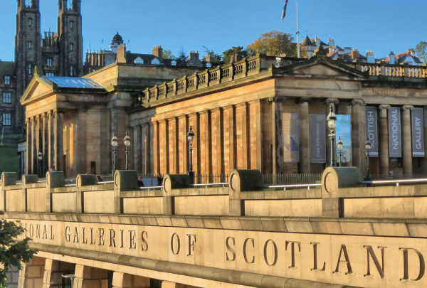 Earlier last year we had the great fortune of working on the prestigious National Galleries in Edinburgh. Home to Scotland's national collection of fine art, it was a fantastic building to work on and feedback that we've received recently as certainly given us a glow of pride in the project.