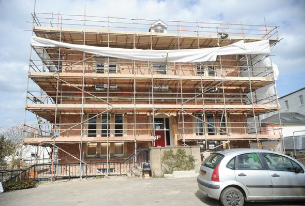 Helping transform Overton House - a landmark Cheltenham building