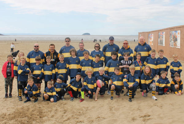 Under 8s up their game with Storm sponsorship