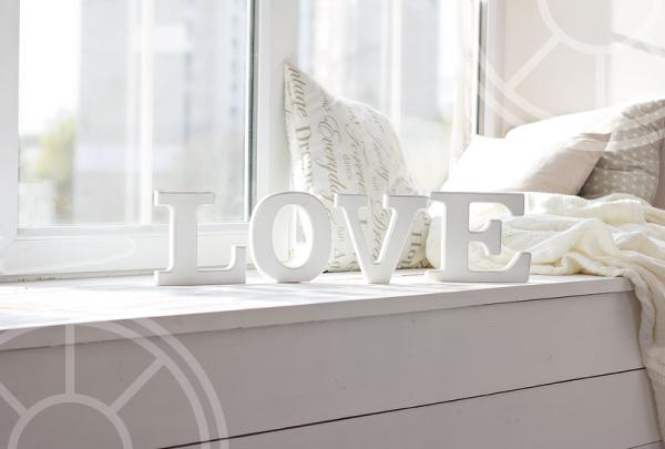 Creative ways with windowsills